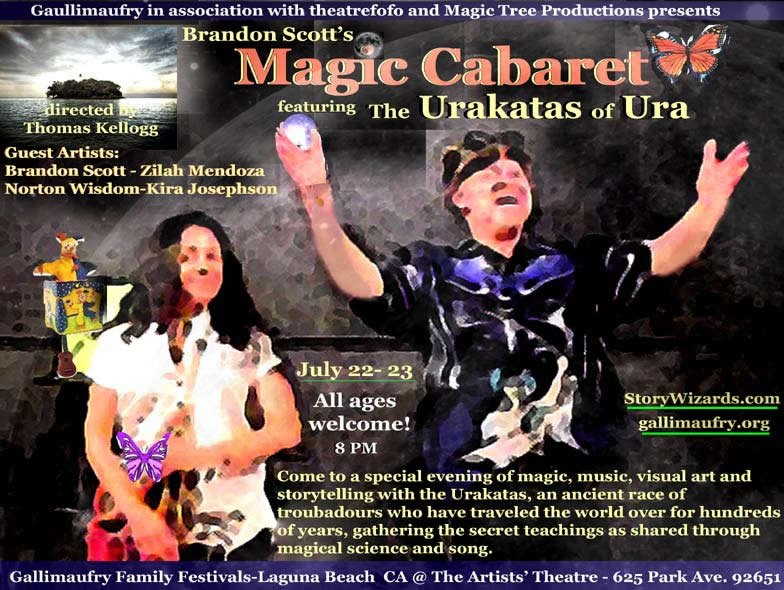 Magic Cabaret Urakata of Ura Brandon Scott